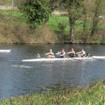 Racing at Castle Connell sprints regatta