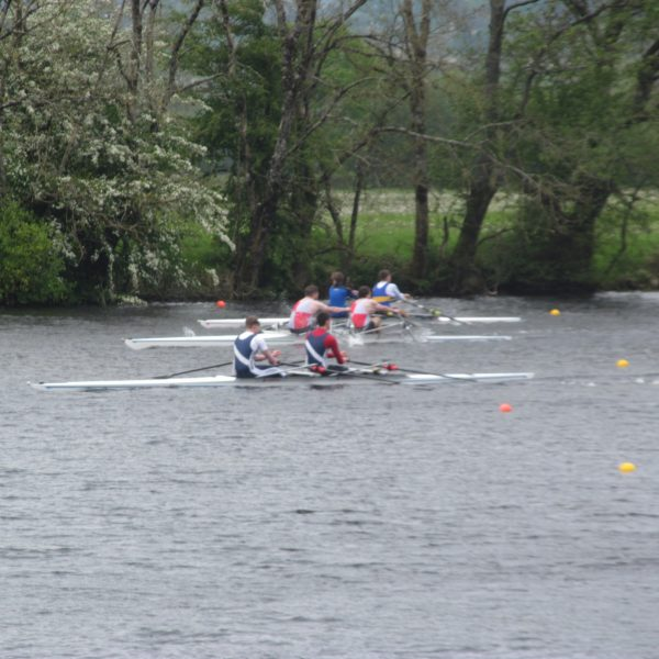 Racing at Castle Connell sprints regatta